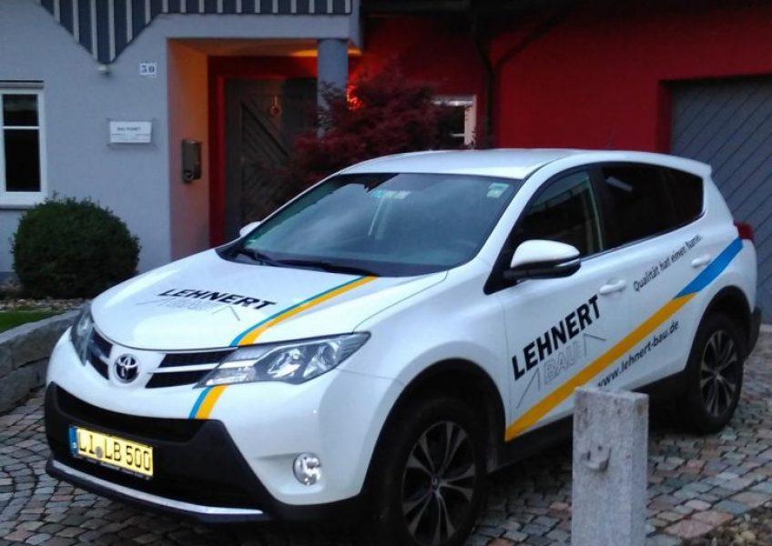 Fahrzeugbeschriftungen HADE MEDIA Lindenberg Lindau Weiler Oberstaufen Heimenkirch Wangen Opfenbach Kempten Bregenz Lochau