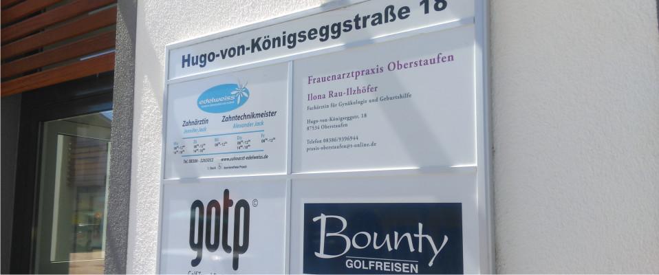 werbebeschilderung-werbeanlagen-schilderanalagen HADE MEDIA Lindenberg Weiler Scheidegg Wangen Heimenkirch Opfenbach